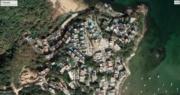 攝於2021年2月的清水灣衛星照片(圖片來源:David Webb fb)