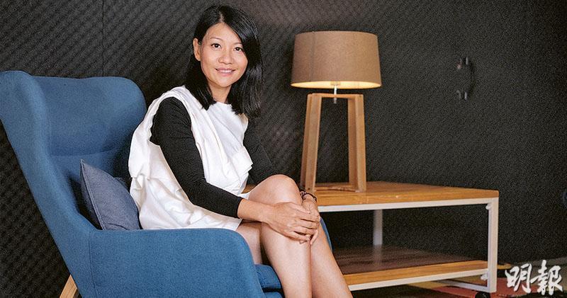 VS Media創辦人兼首席執行官黃雅芬表示,廣告客戶傾向和作為廣告客戶與YouTuber之間橋樑的MCN合作,確保在投放廣告時的推廣效益。(賴俊傑攝)