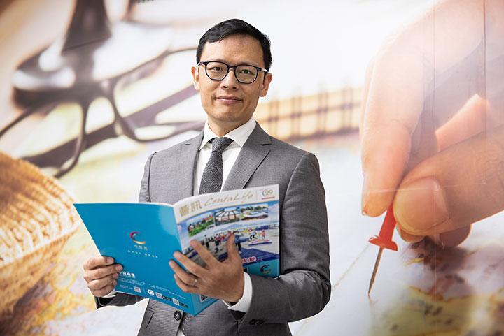 許大衛看好新加坡樓市發展,原因是樓市整體表現及進入當地的資金質素好,未來經濟也穩定持續發展。