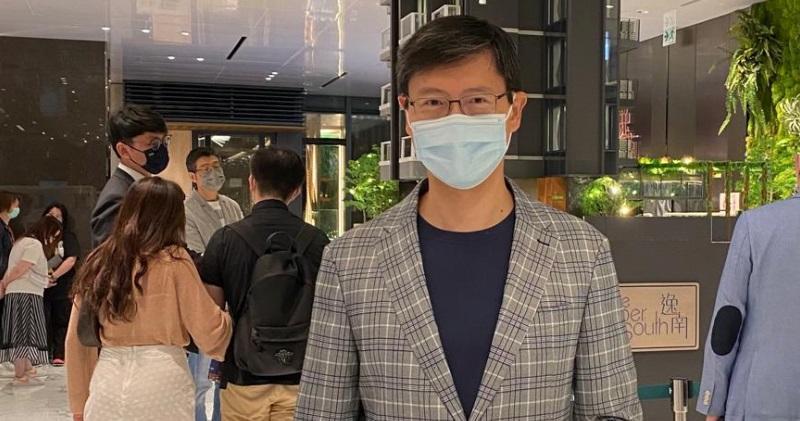 圖為恒基物業代理營業(二)部總經理韓家輝。
