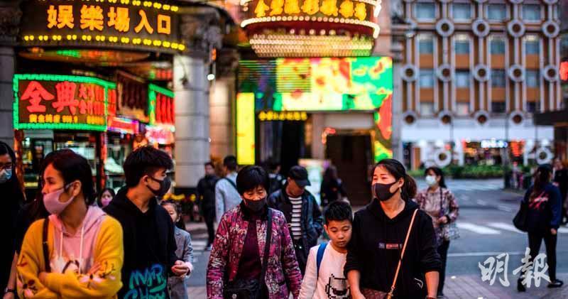 廣東疫情反覆影響 近日訪澳門旅客數字降至不足兩萬人次