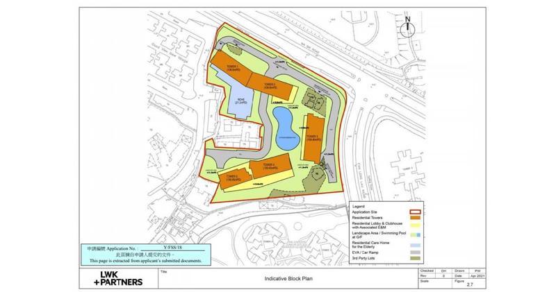 萊蒙馬適路項目棄洋房改建分層戶 (資料來源:城規會文件)