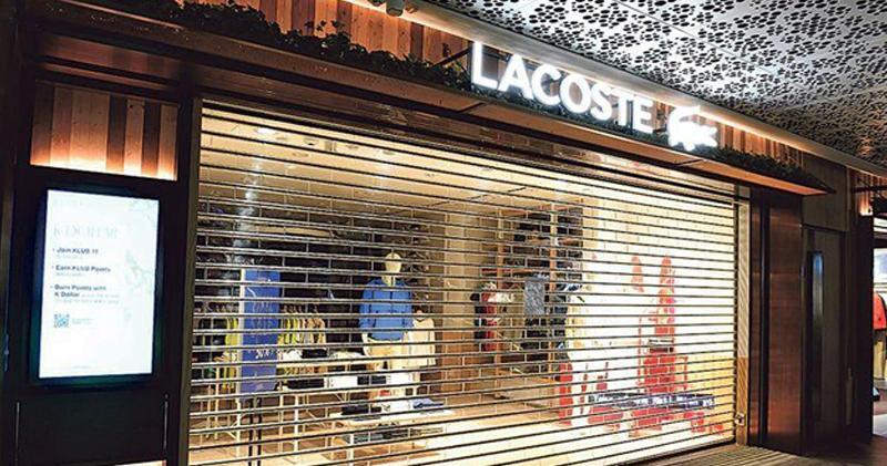 鱷魚恤遭終止「LACOSTE」分銷協議