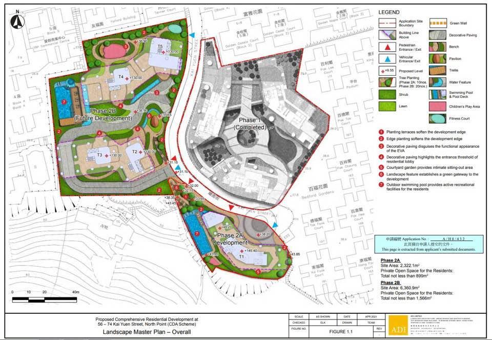 新世界繼園街項目申建850伙 大增212伙或三成。(資料來源:城規會)