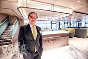 置地執行董事周明祖表示,以旗下物業計,未見有很多租戶遷出中區,反而近期有不少租戶重返中環,包括來自歐美的機構。(李紹昌攝)