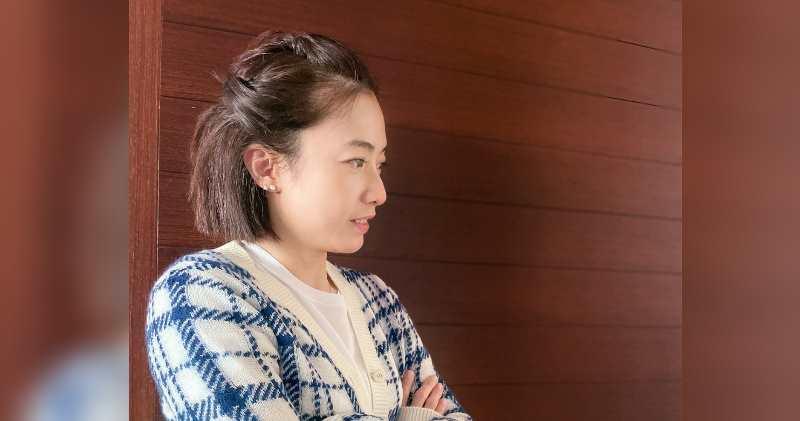 劉鑾雄慈善基金捐1000萬元助本地電影業界。圖為劉鑾雄太太甘比(陳凱韻)。