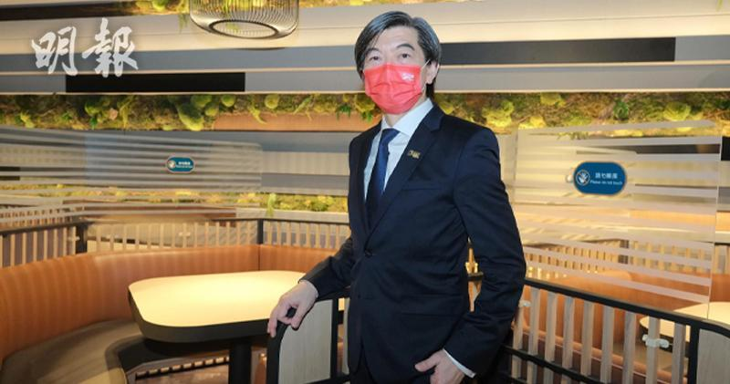 中國移動香港董事兼行政總裁李帆風