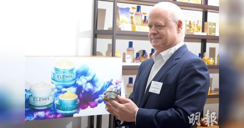 歐舒丹:港店舖人流有改善 無計劃再關店。圖為歐舒丹副主席Andre Hoffmann。