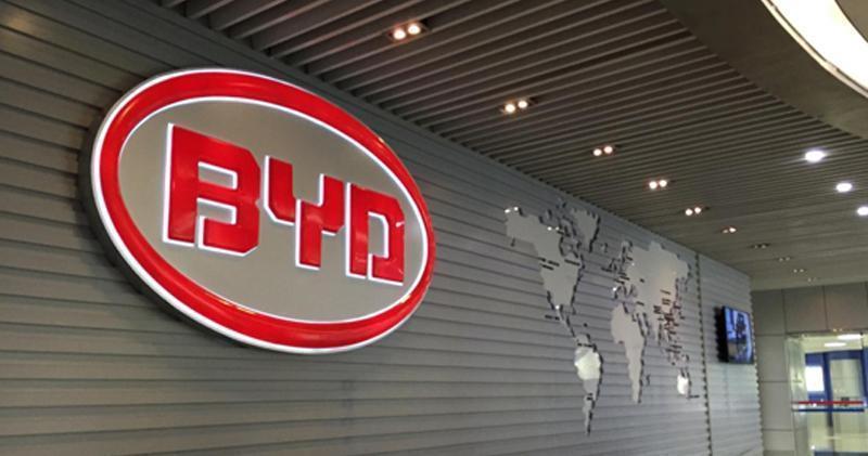 比亞迪6月汽車產銷量升逾五成