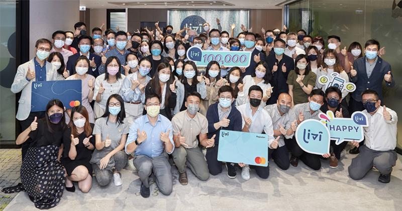 livi bank指其客戶人數突破10萬,正籌備推出貸款及財富管理產品。(livi bank提供)