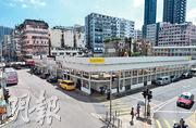 恒地昨日透過強拍統一石硤尾耀東街9至14號舊樓業權,整個石硤尾重建項目橫跨巴域街、南昌街及耀東街,預計可建樓面40.8萬方呎。(林靄怡攝)