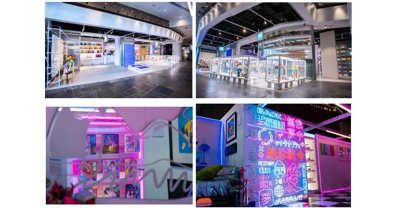 凱知樂朗豪坊概念店首週營業額破100萬元。圖為kkplus的新店面。