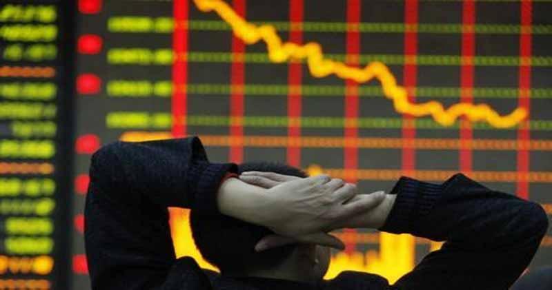 A股三大指數齊向下 滬指午後反覆下挫全日跌1.07%