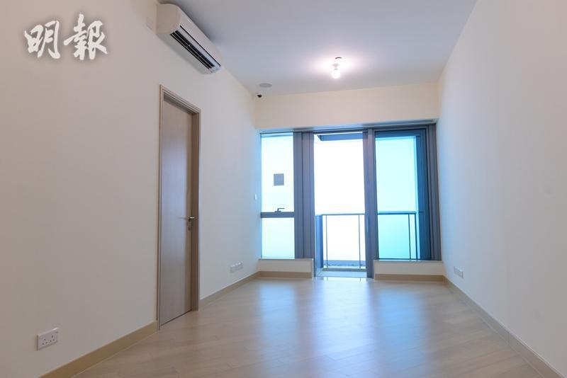 維港滙II 第六座18樓C室示範單位(鍾林枝攝)