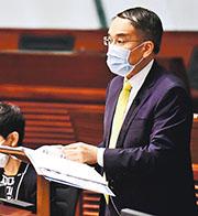 財庫局局長許正宇昨日回覆立法會議員相關提問時,首次提及香港居民,包括持有永久或非永久性居民身分證,均可參與北向通,但潛在損失能加較低的「弱勢社群」客戶,則不包括在內。(資料圖片)