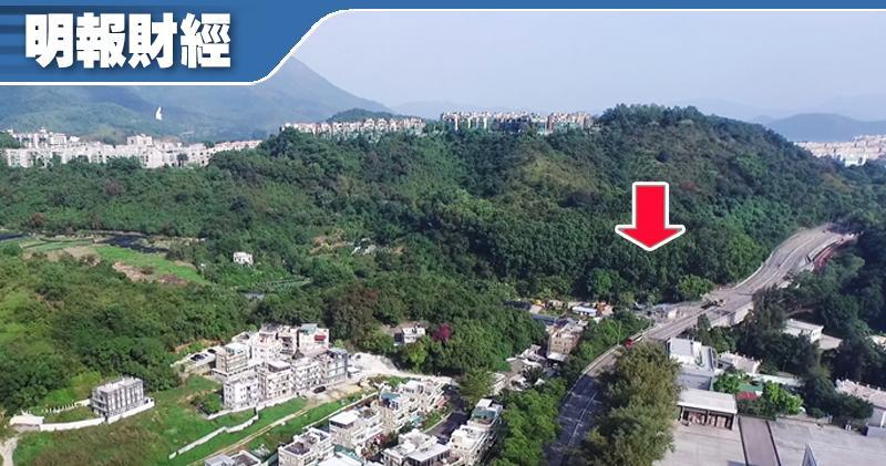 土地共享接首宗申請 南豐大埔露輝路項目涉1642伙,紅箭嘴所示為地盤A位置。
