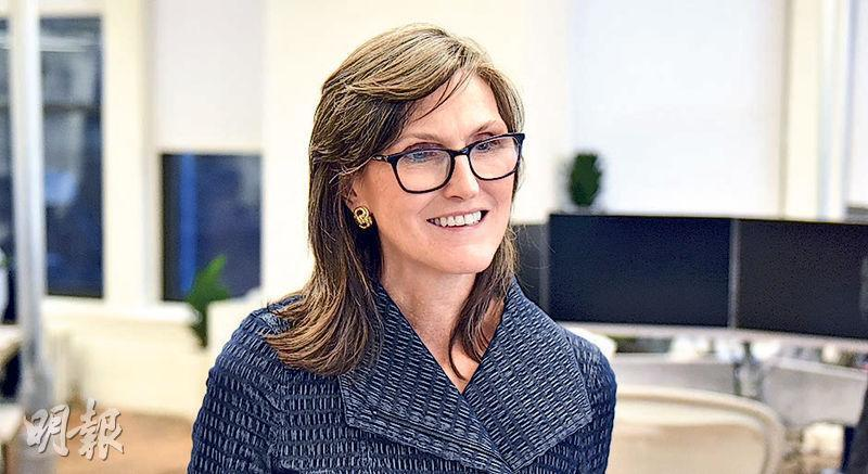 Cathie Wood旗下Ark管理的ETF減持京東物流、平安好醫生等中概股