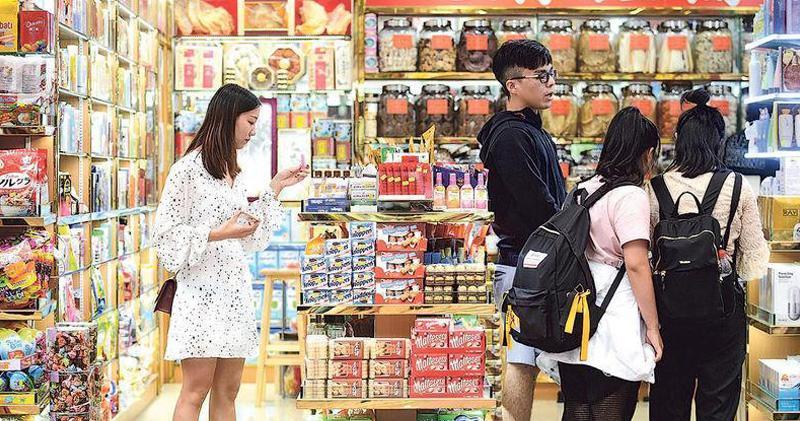 港6月零售數升幅遜預期 上半年零售升8.4%