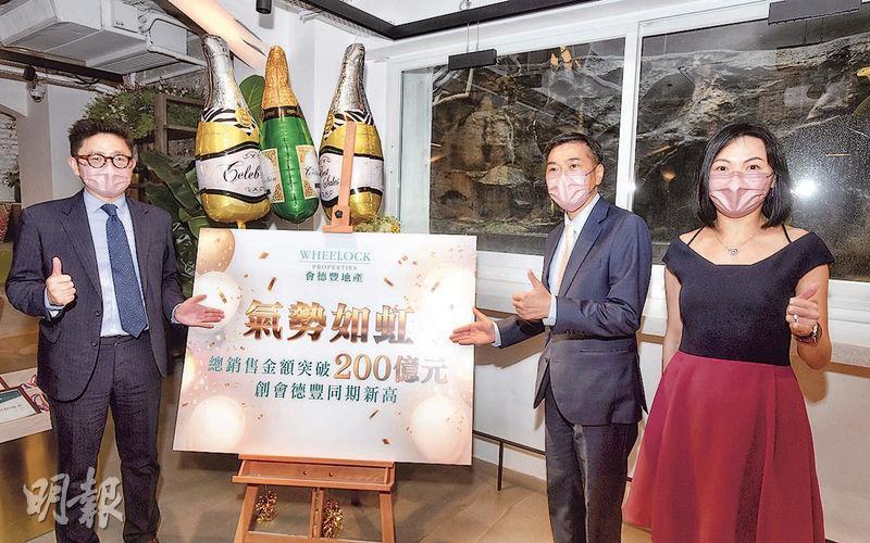 會德豐今年在港賣樓203億破紀錄  合景龍光鴨脷洲利南道豪宅295伙批預售