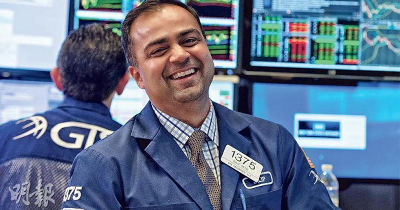 美股向上 標指創收市價計新高 道指升278點