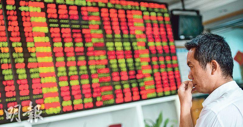 內地股市半日向上 滬指升0.56%