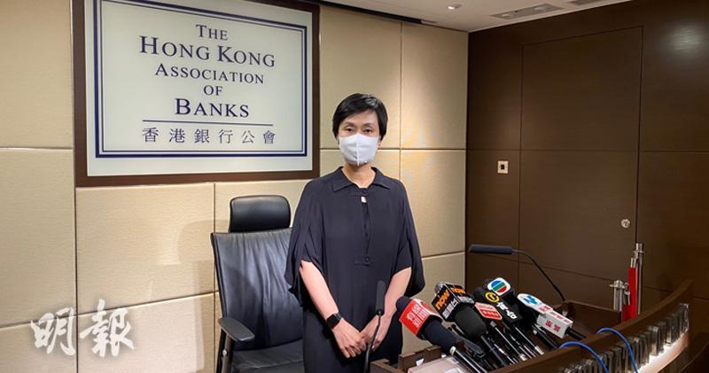 施穎茵表示,未來宏觀經濟環境存在不確定性,但香港仍有很強的儲備,資金非常充裕。(胡學能攝)