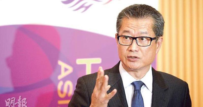 陳茂波:本地經濟逐步好轉 但未恢復至疫情前水平