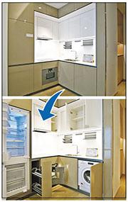 發展商提供基本廚房家電設備,如Gaggenau電磁爐、Sub-zero雪櫃、洗衣乾衣機等。