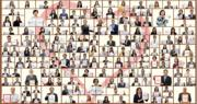 長江集團旗下161家成員公司之代表於辦公室手持獎狀的大合照。