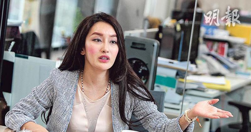 環球信貸中期盈利倒22% 淨息差上升。圖為公司主席王瑤。
