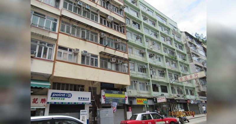 宏安鳴鳳街項目底價8.05億統一業權。圖為慈雲山鳴鳳街26至48號。