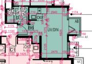 Wetland Seasons Bay 1期 5A座1至9樓B6室,實用268方呎,開放式間隔