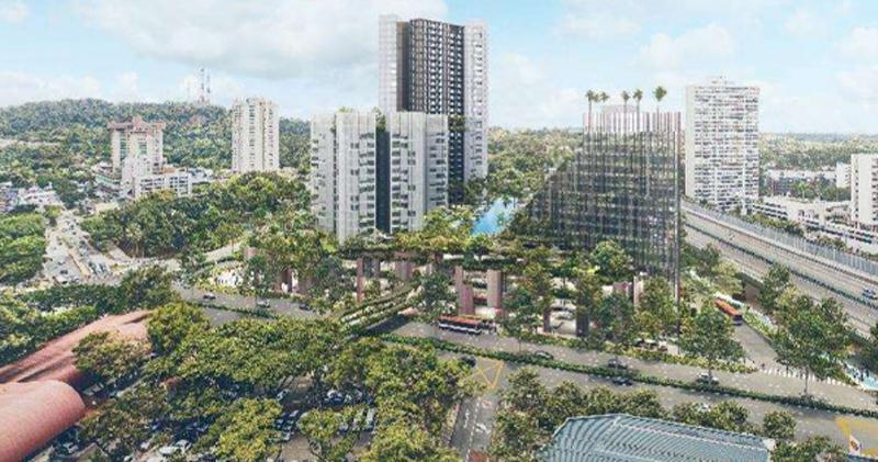 項目構想圖(圖片來源:新加坡市區重建局)