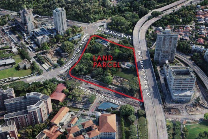 項目位置(圖片來源:新加坡市區重建局)