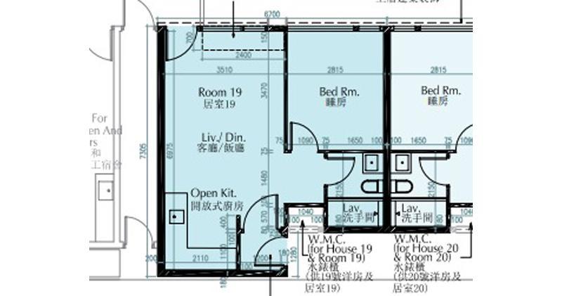 瑧譽地下居室513萬元首金錄成交 實呎1.07萬