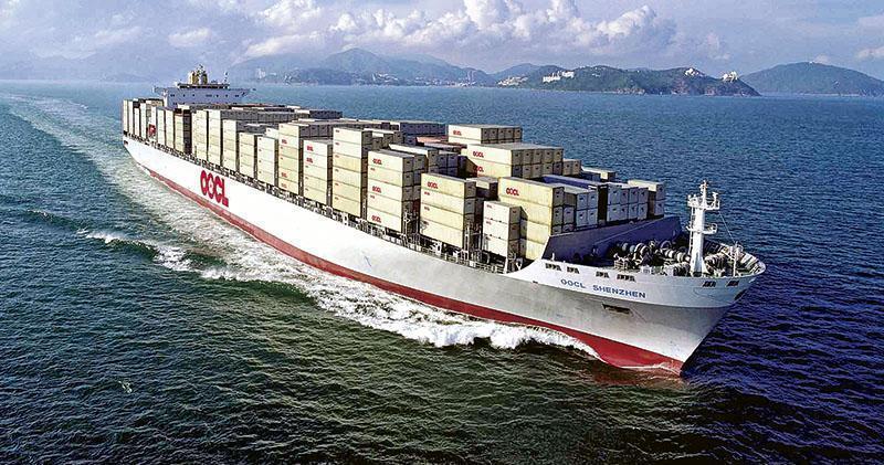 東方海外斥123億元造10艘船舶