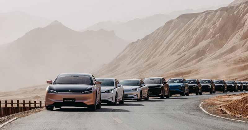 恒大汽車:恒馳5款車型完成夏季測試