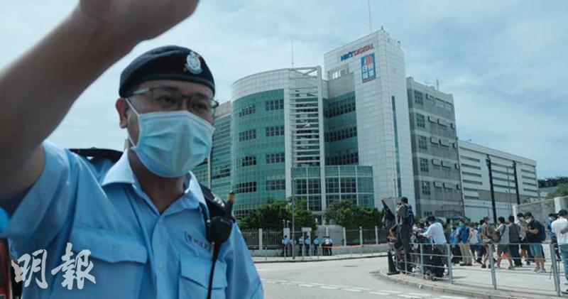 保安局:壹傳媒推卸責任 抹黑國安法
