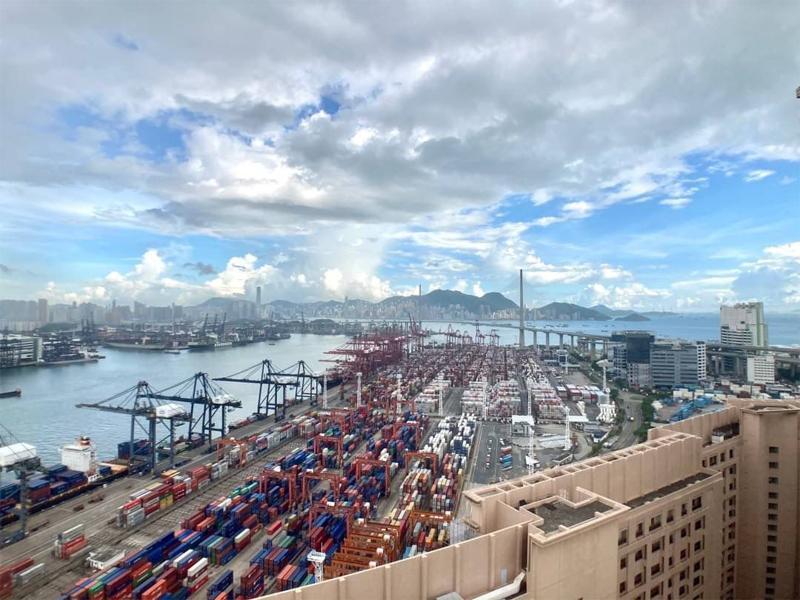 藍澄灣海景頂層2房連天台景觀相(代理提供)