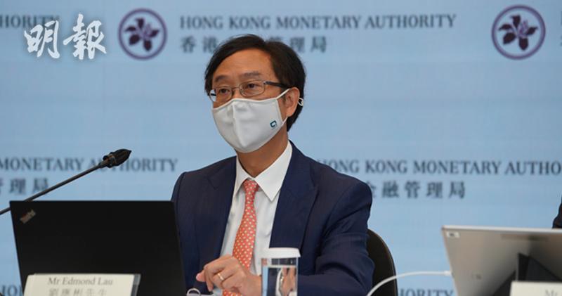 金管局副總裁劉應彬指,理財通的細則將在約一個月後實施。(楊柏賢攝)