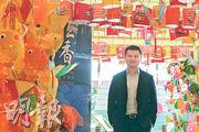 王偉樑表示發展網店及開設冰室已達成其於集團的兩大「里程碑」,未來冀加大力度增加海外分店,亦有意引進台灣傳統特色食品。(李紹昌攝)