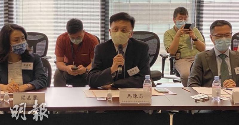 圖說:馬陳志表示,中美競爭下,香港處於風浪口,有潛在可能引發美國對香港實施更多制裁。(胡學能攝)