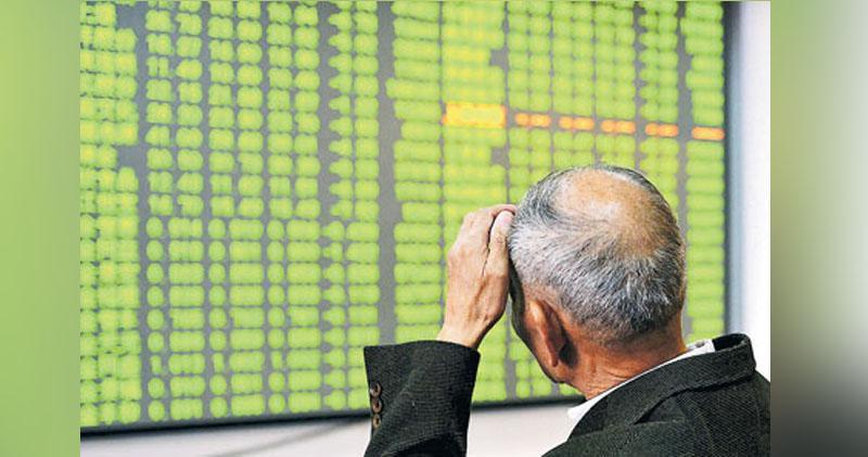 滬指終止三連升 兩市成交額破1.5萬億人幣