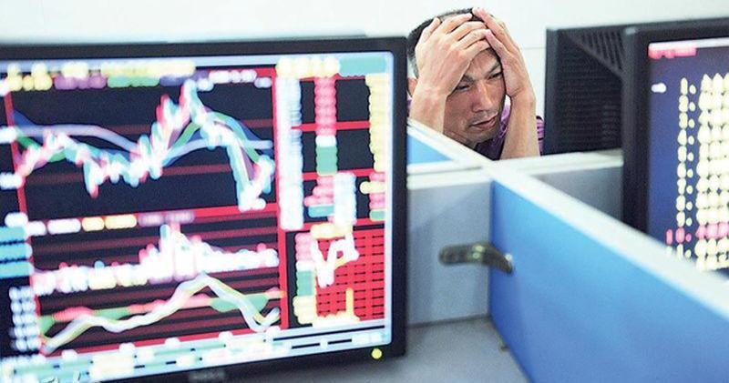 滬指連跌三日 埋單跌1.34%