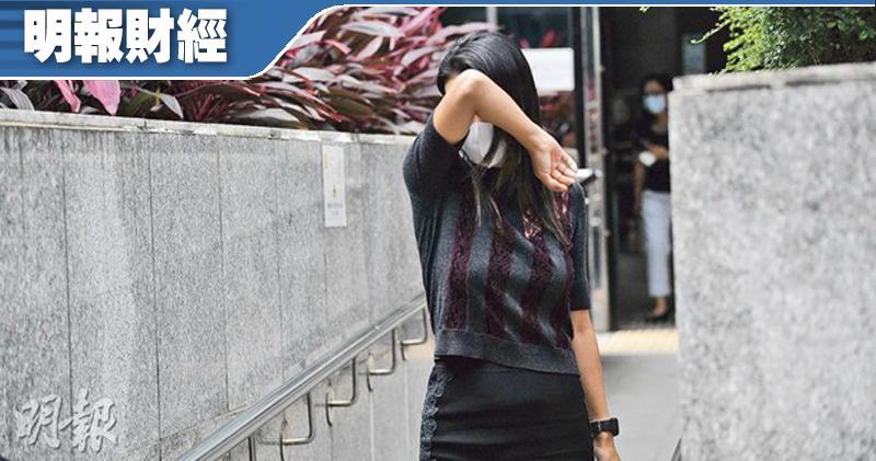 港交所前高層涉貪案 楊金隆妻:得悉丈夫被捕出於本能逃離住所兩天。圖為楊金隆妻子郝媛媛。(資料圖片)