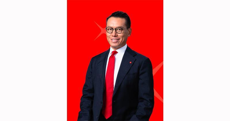 林永德獲委任為星展香港董事總經理兼企業及機構銀行副總監。(星展香港提供)