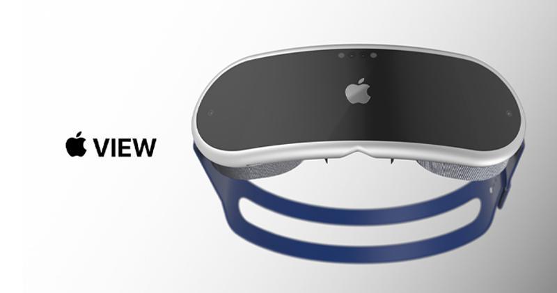 蘋果AR頭戴裝置據報將於明年下半年推出(網上圖片)