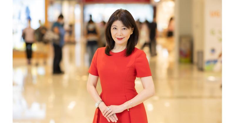 信和商場迎第二期消費券 料國慶假營業額升30%。圖為信和集團資產管理董事蔡碧林。