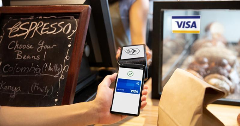 Visa:新冠疫情影響 76%港人盡可能使用非接觸式支付