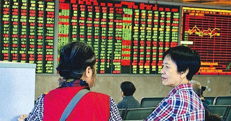 滬深三大指數半日向下 上證跌1.79%